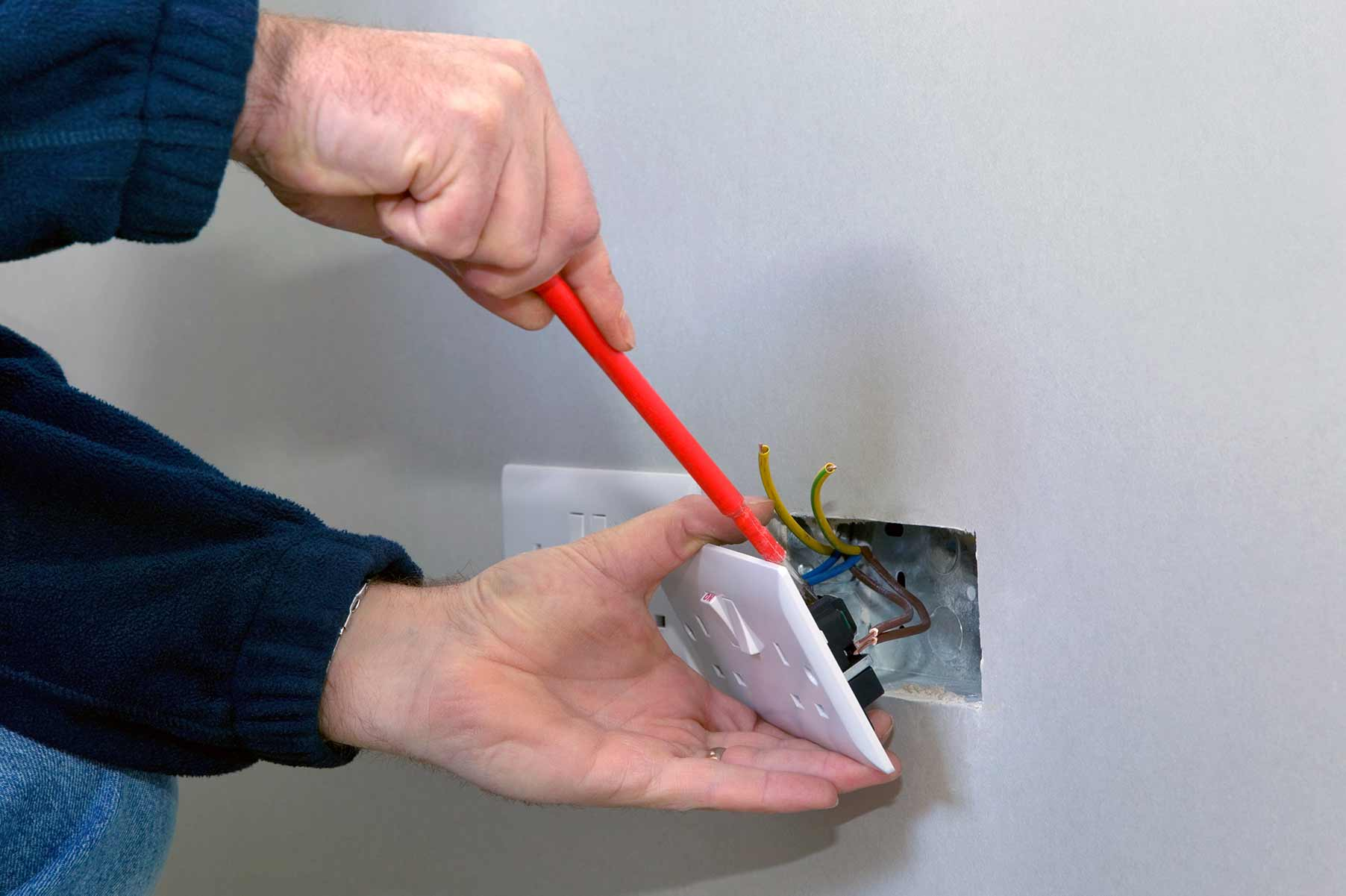 Our electricians can install plug sockets for domestic and commercial proeprties in Canning Town and the local area.
